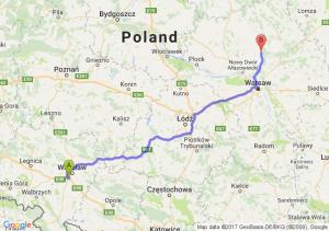 Trasa Bielany Wrocławskie - Pułtusk