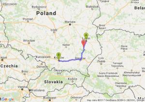 Lublin (lubelskie) - Zakrzówek - Polichna (lubelskie)