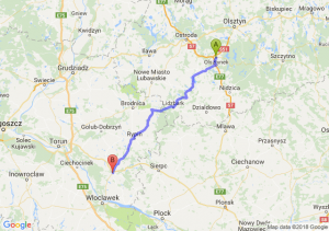 Trasa Olsztynek - Lipno