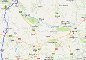 Opole (opolskie) - Inowrocław (kujawsko-pomorskie) - Kwidzyń