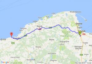 Straszyn (pomorskie) - Sarbinowo (zachodniopomorskie)