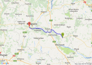Trasa Lipno - Białe Błota