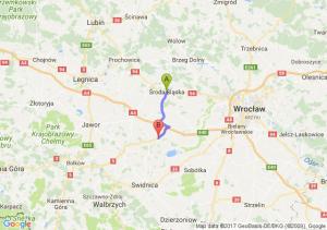 Środa Śląska - Osiek (koło Strzegomia) (dolnośląskie)