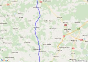 Al. Kijowska 31 Kraków - Żarnów (łódzkie) - Żydomice 30