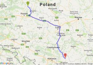 Wągrowiec (wielkopolskie) - Miechów (małopolskie)