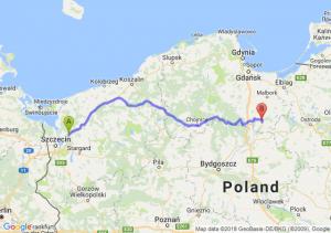 Trasa Goleniów - Kwidzyn