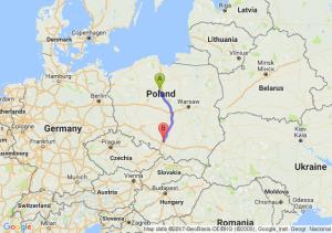 Toruń - Radzionków (śląskie)