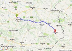 Trasa Rzgów - Zamość