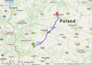Trasa Głogów - Białe Błota