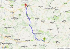 Trasa Jarosław - Pruszków