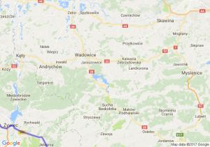 Przemków - Bielsko-biała - Zakopane