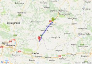 Kielce  - Antolka (małopolskie)