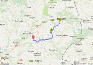 Ksiezyno - Hodyszewo (podlaskie) - Rytele
