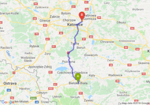 Trasa Bielsko-Biała - Sosnowiec