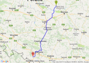 Trasa Płońsk - Rybnik