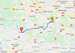 Trasa Mikołów - Rybnik