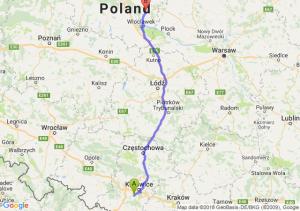Trasa Mikołów - Lipno