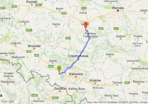 Trasa Kędzierzyn-Koźle - Rzgów
