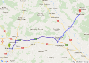 Rzeszów - Adamówka (podkarpackie)