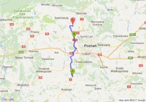 Głuchowo (wielkopolskie) - Sady (wielkopolskie) - Przecław (wielkopolskie)