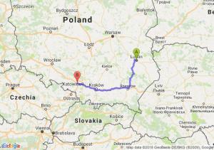 Trasa Lublin - Gliwice