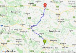 Trasa Racibórz - Konin