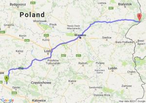 Brzeg (opolskie) - Białowieża (podlaskie)