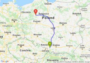 Trasa Pszczyna - Piła
