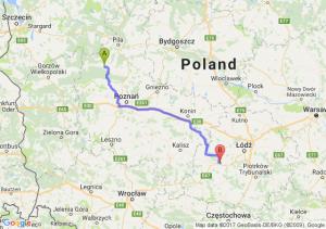 Trasa Ciszkowo - Zduńska Wola