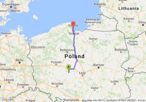 Stawiszyn (wielkopolskie) - Sopot (pomorskie)