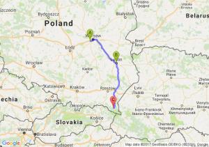 Pruszków - Lublin (lubelskie) - Górzanka