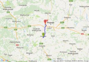 Koscian (wielkopolskie - Zakrzewo (wielkopolskie)