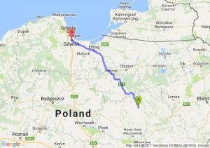 Przasnysz (mazowieckie) - Gdansk