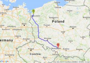 Trasa Goleniów - Gliwice