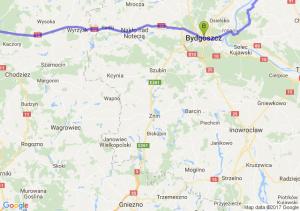 Chelmno Kujawsko Pomorske - Bydgoszcz (kujawsko-pomorskie) - Piła (wielkopolskie)