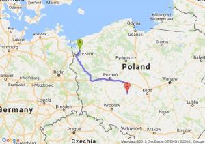 Trasa Goleniów - Kalisz