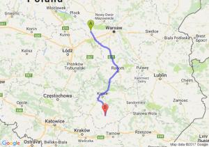 Sochaczew (mazowieckie) - Busko Zdroj