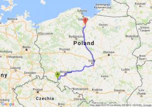 Trasa Wałbrzych - Gniew