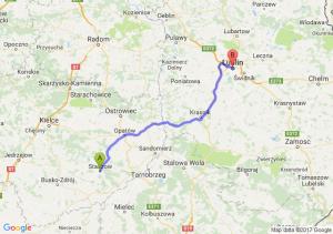 Staszów - Lublin