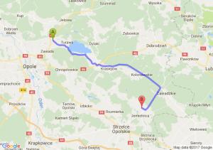 Węgry (opolskie) - Jemielnica (opolskie)