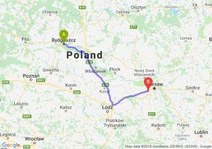 Trasa Bydgoszcz - Pruszków