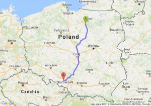 Trasa Olsztynek - Kędzierzyn-Koźle