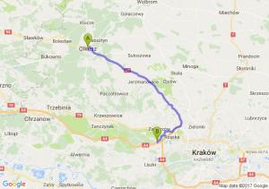 Olkusz - Balice (małopolskie) - Balice (małopolskie)