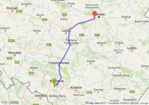 Trasa Mikołów - Pruszków