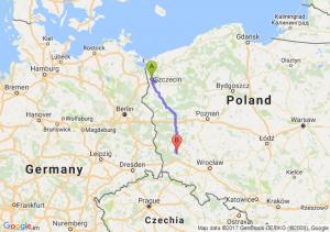 Szczecin (zachodniopomorskie) - Leszno Dolne
