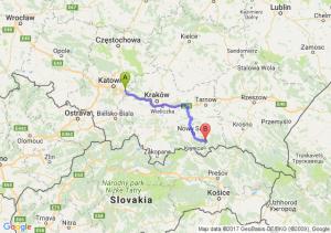 Jaworzno (śląskie) - Berest (małopolskie)