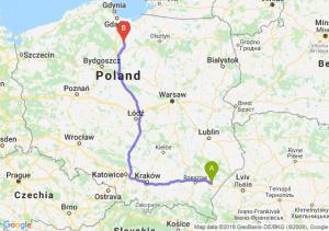 Trasa Jarosław - Kwidzyn