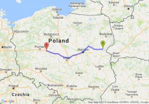 Trasa Siemiatycze - Września