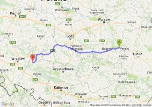 Trasa Bąkowiec - Namysłów