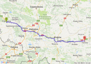 Trasa Krapkowice - Tarnów